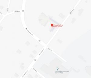 map first baptist church friendsville